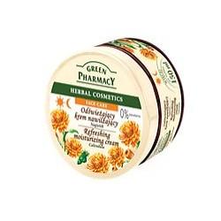 Crema facial hidratante y refrescante para piel seca CALÉNDULA