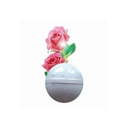 Bomba de Baño Espumosa Rosas