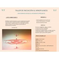 Taller de Iniciación Mindfulness