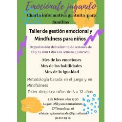 Taller Gestión Emocional y Mindfulness para Niños