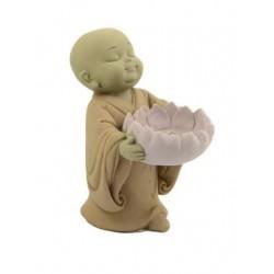 Imágen Shaolin Porta Velas Flor de Loto