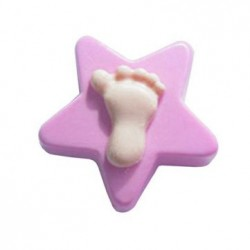 Jabón Estrella con Pie