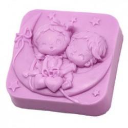 Jabón niños en la luna
