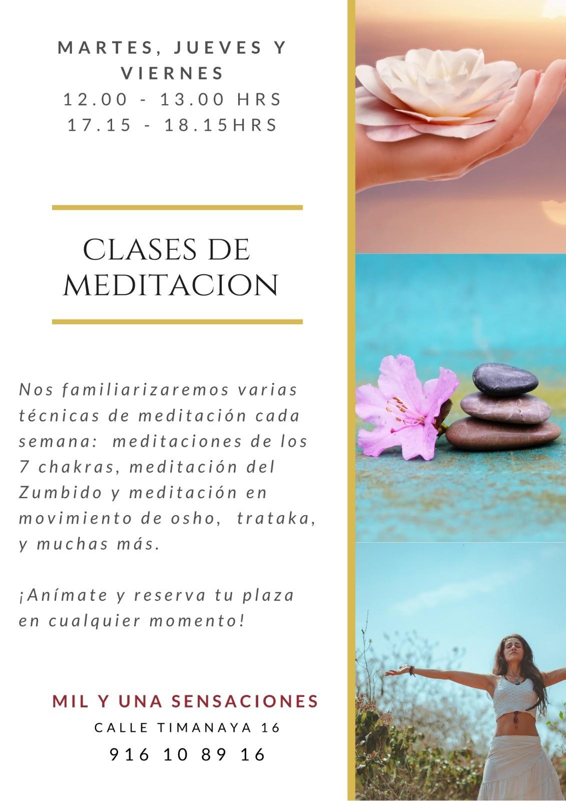 Clases de meditación