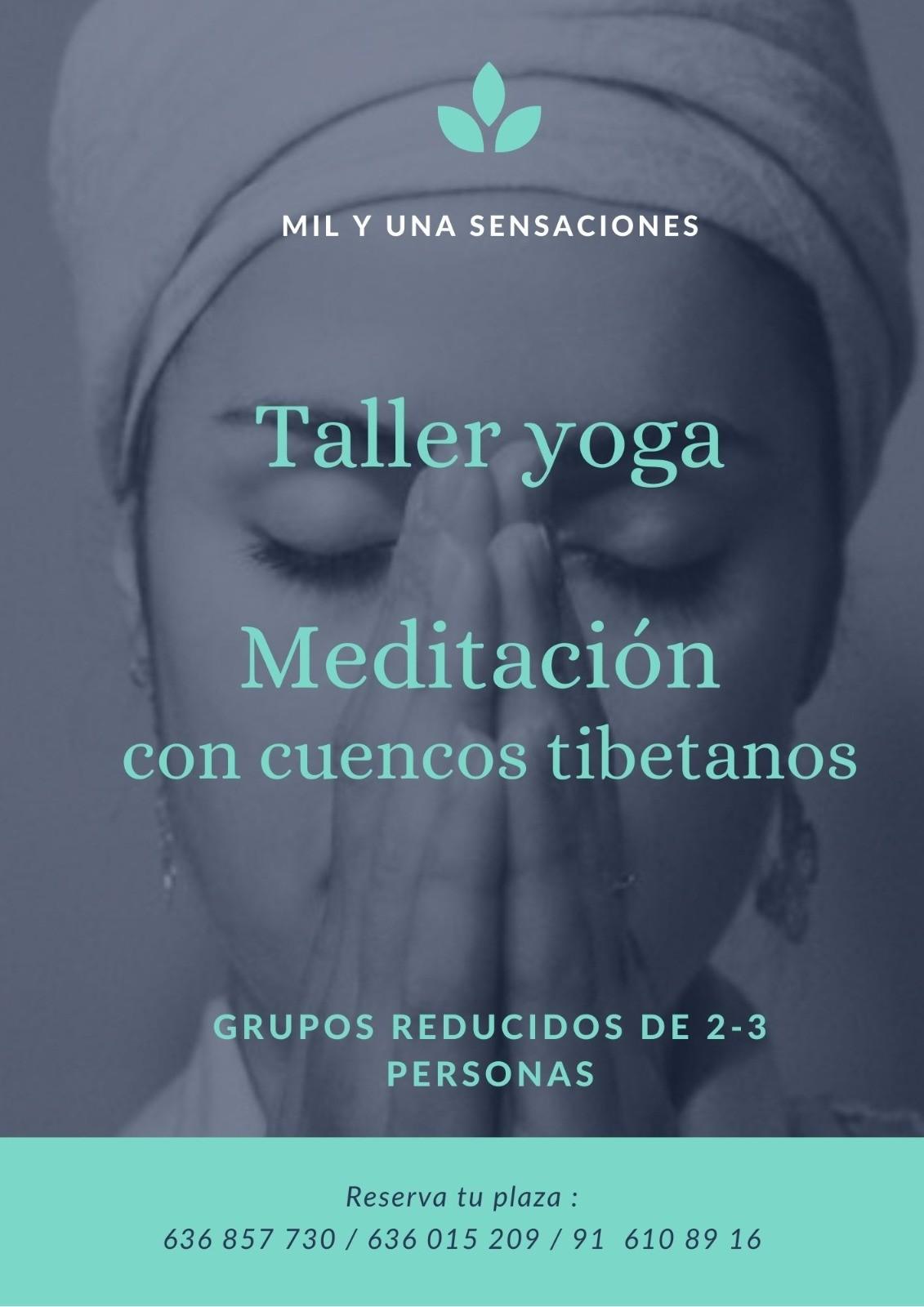 Meditación con cuencos tibetanos